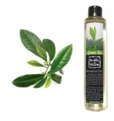 massage oil green tea