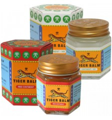 tiger balm pack red / white